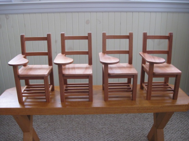 1/3 scale school desks - Woodworking Talk - Woodworkers Forum
