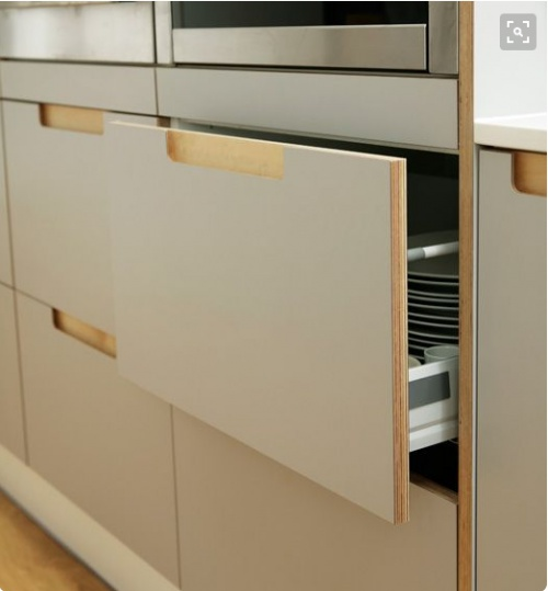 Exposed Edge Plywood Cabinets