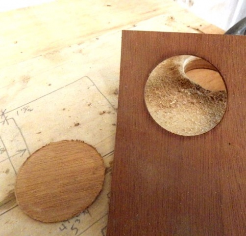 "Holes Quotes And Page Numbers: Anything To Punch 3"" Hole Into Veneer?"