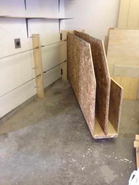 Lumber Cart Vs Overhead Bin Woodworking Talk