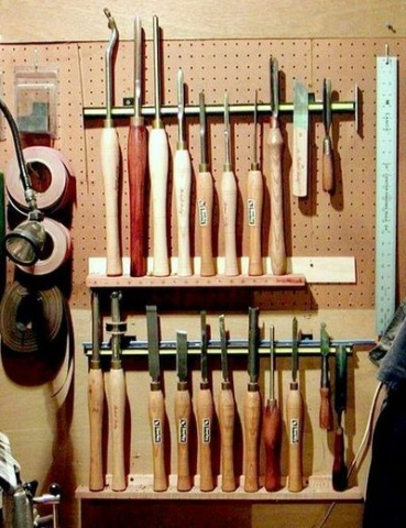 Wood Lathe Tool Holder Plans - DIY Woodworking Projects
