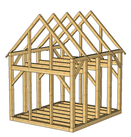 small timberframe shed plans woodworking talk woodworkers forum