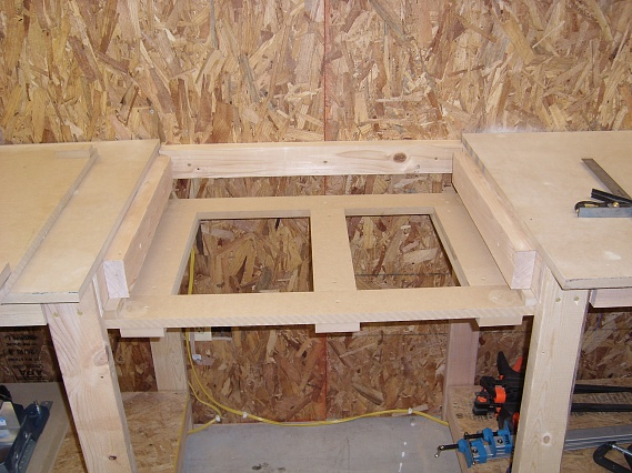 Workbench Miter Saw Station Woodworking Talk
