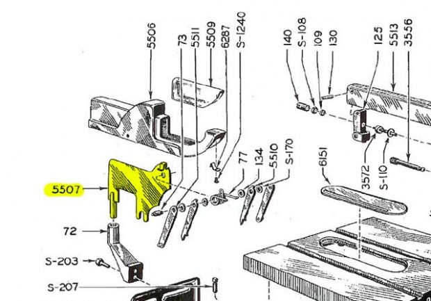 Splitter for old craftsman table saw woodworking talk click image for larger version name splitter bladeg views 7475 size greentooth Image collections