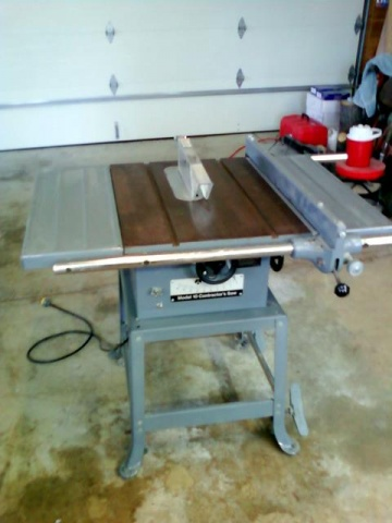 the used phase machinery rockwell saw cd delta table single