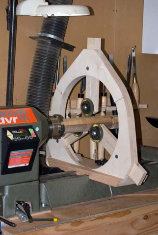 Lathe Steady For Jet Woodworking Talk Woodworkers Forum