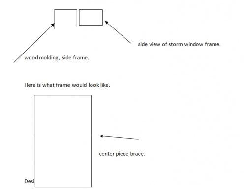 wood and vinyl storm window design help needed - Woodworking Talk ...