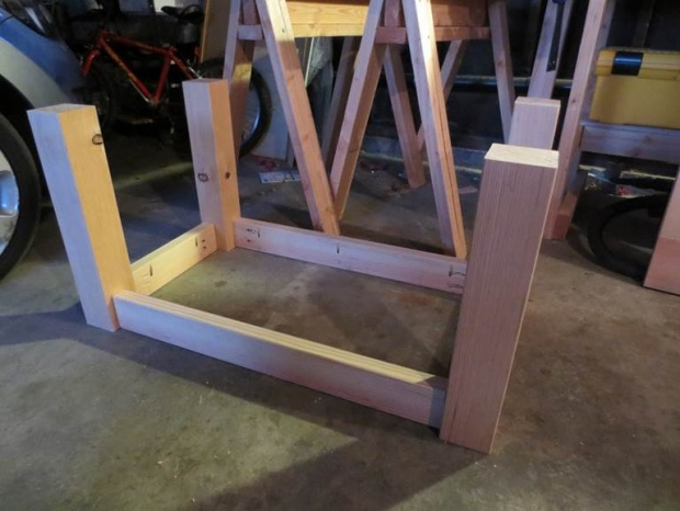First Actual Project   Coffee Table Supports