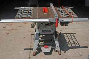 Find Many Great New Used Options And Get The Best Deals For Ridgid Ts2424 Table Saw Trunnion Embly Complete At Online Prices Ebay