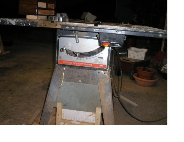 10 craftsman table saw year woodworking talk woodworkers forum click image for larger version name tablesaw11g views 10142 size 426 greentooth Image collections