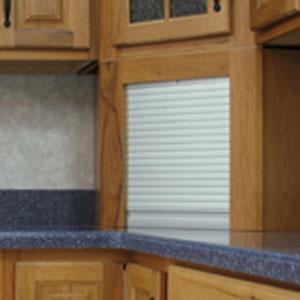 Prepossessing 40+ Kitchen Cabinet Roller Doors Inspiration Of ...