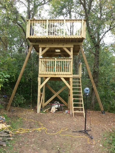 Free Standing Tree House Page 3 Woodworking Talk