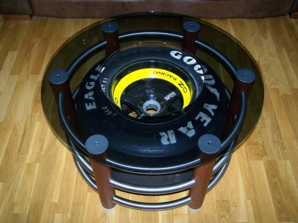 Nascar Tire Woodworking Talk Woodworkers Forum Rh Woodworkingtalk Com Table For Coffee