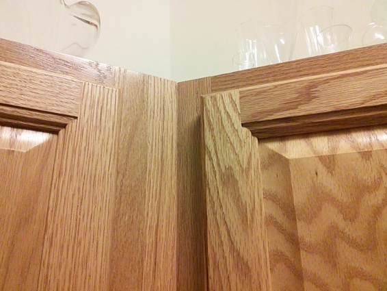 Crown Molding for kitchen cabinet. - Woodworking Talk ...