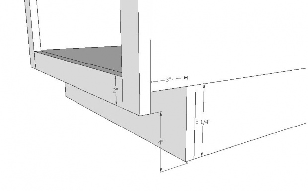 Cabinet Toe Kick Height Opendoor