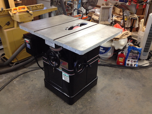 Restoration - Powermatic 66 Table saw - Page 3 - Woodworking