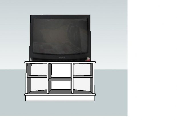 build a corner tv stand plans