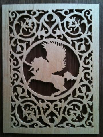 My First Scroll Saw Pattern Unicorn Woodworking Talk