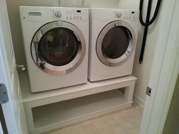 Simple Washer Dryer Pedestal Units Installed Jpg
