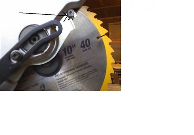 10 dewalt miter saw blade removal problem woodworking talk 10quot dewalt miter saw blade removal problem untitledg greentooth Image collections