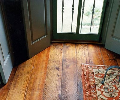 Rough Sawn Floor With Saw Marks Woodworking Talk