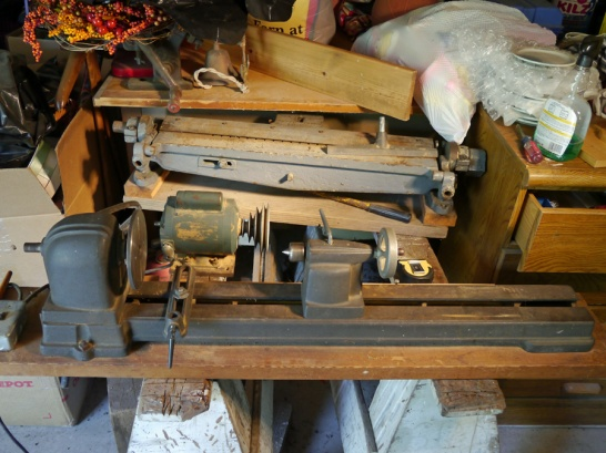 Help Identifying Old Wood Lathe Woodworking Talk