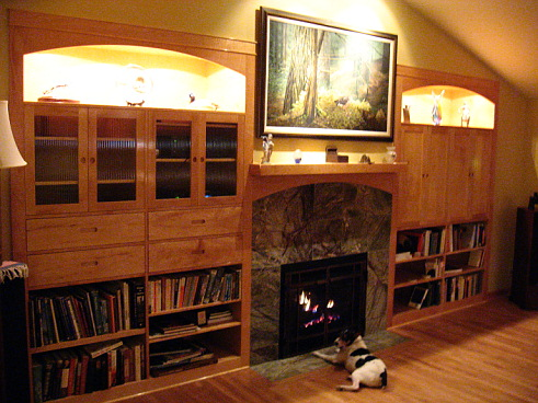 Ideas For Entertainment Center Around Fireplace Woodworking Talk