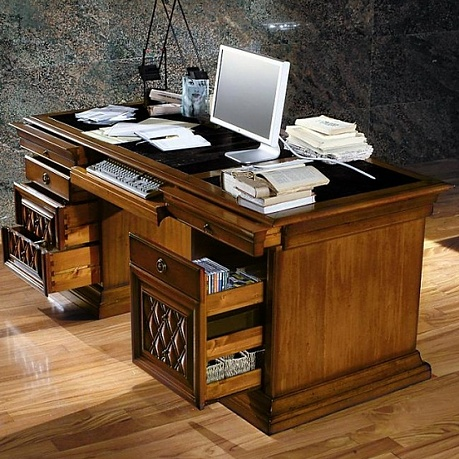 Woodworking plans office desk 2000mm