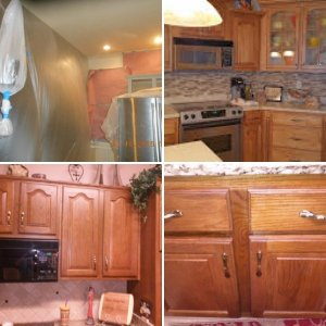 Cabinet Finishes and repaints, etc.---