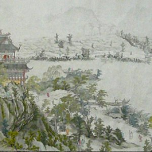 A part of Giant Traditional Chinese Painting17.