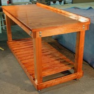 Standard Plantation Workstation by American Workbench.