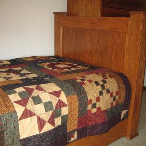 Trundle footboard