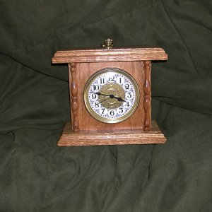 Red Oak Clock with MinWax Golden Oak Stain and a laquer finish