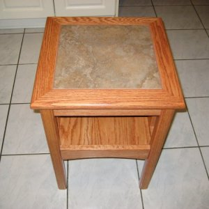 Red Oak Side Table Top