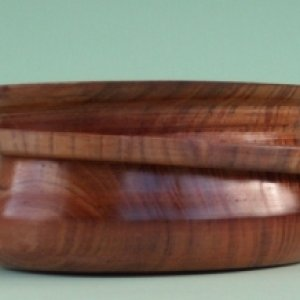 Tasmanian Myrtle bowl with ring