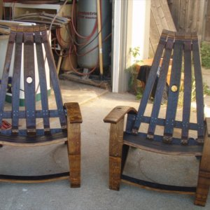 patio chairs pair