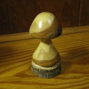 Wooden mushrooms 010