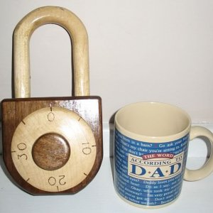 combination lock finished