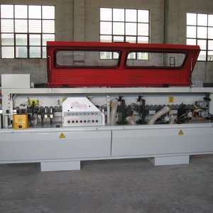 The semi-automatic edge banding machine  Features and Usage: 1.The machine is mainly used for the linear sealing side of the plywood, fireboard, Parti