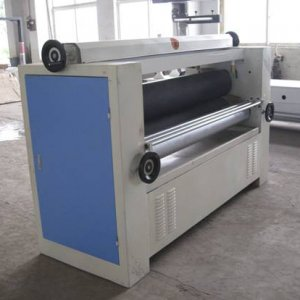 double sides glue spreader  Features: 1.This type of machine can spread glue on both sides of working piece at the same.  2.The main machine is made b