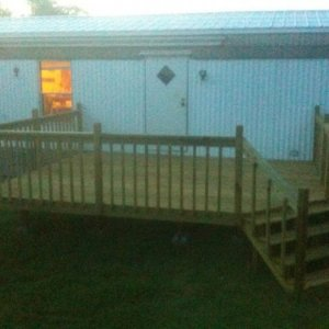 deck finished