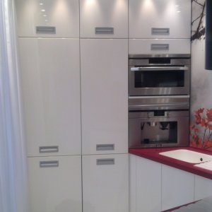 kitchen white gloss - MDF