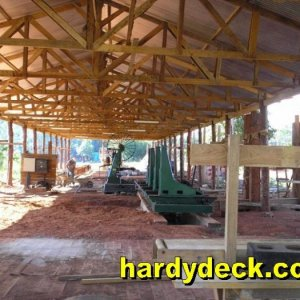 Hardydeck SRL hardwood mill in Bolivia