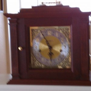 First clock, then I realized that the only thing time measures is time.