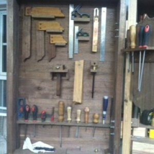 tool box lay out tools