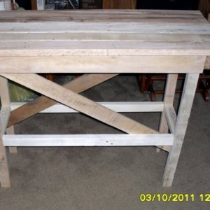 Braydens Work Bench a