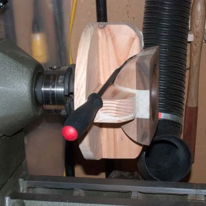 Bowl multi axis removing from jig 2006