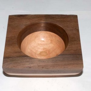 Bowl multi axis buffed side view 2009