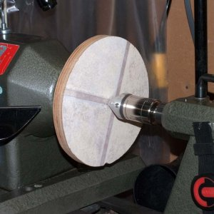 Bowl multi axis jig centre disc gluing 2020