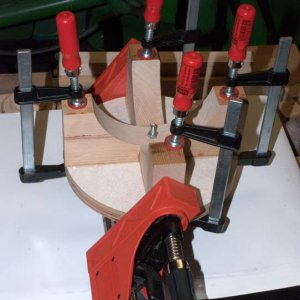 Multi axis jig glue arms 2027
